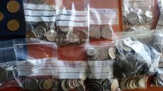 Latin America – 17 countries – Collection of 20th century coins, 2.6 kg