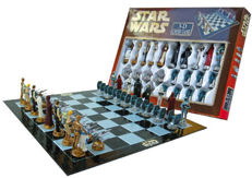 Star Wars - Chess game Tie Fighter vs X-Wing Fighter: Star Wars 3D Chess - Board 47 x 47 cm