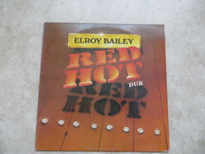 REGGEA The rare red vinyl: Elroy Bailey - Red Hot Dub - Burning Vibrations 1979