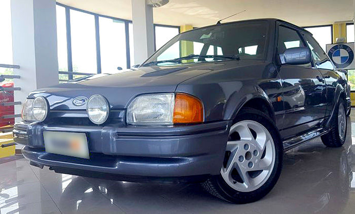 Ford - Escort Rs Turbo - 1988