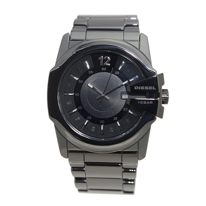 Diesel - DZ1516 - NEW DIESEL STEEL BLACK QUARTZ WATCH - Men
