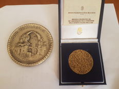 2 rare commemorative medals
