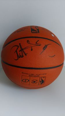 Original Patrick Ewing signed basketball (Steiner authenticated)