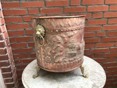 Red copper bucket-Friesland-19th century