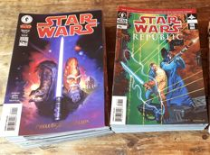 Dark Horse Comics - Star Wars : Republic - Complete Set #1-83 - 1st Print - X83 SC (1998/2006)
