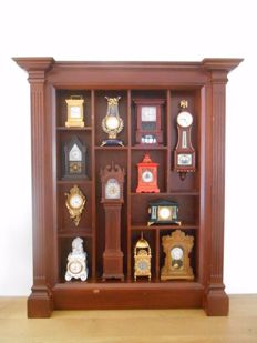 The Franklin Mint 'Clocks Miniature Collection' from 1988