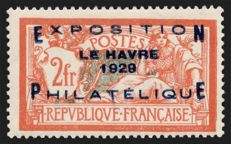 France 1929 - Le Havre Philatelic Exhibition - Yvert 257A