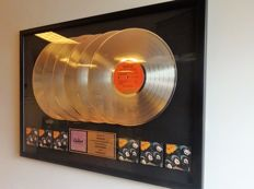 The Beatles Platinum (6x) Capitol Records In-house Award for Rubber Soul
