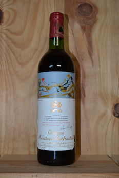 1981 Chateau Mouton Rothschild, 2eme Grand Cru Classé – 1 bottle