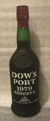 1979 Colheita Port Dow's Reserve - bottled in 1988