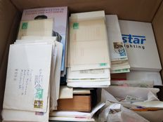 Federal Republic of Germany and GDR or East Germany – Batch to be sorted, with stamps, letters and special issues.