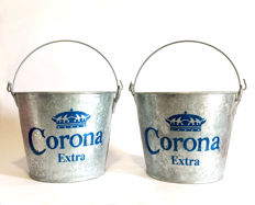 Corona Extra - 2x large Ice-buckets - late '90s