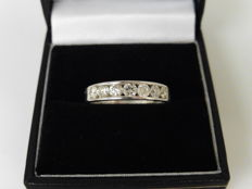 18k Gold Diamond  Eternity Ring - 0.70ct - size 53