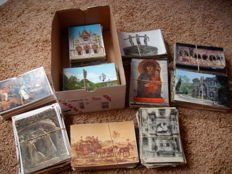 Lot of 1000 x religion, art and art from churches, all over Europe, large and small size from 1900