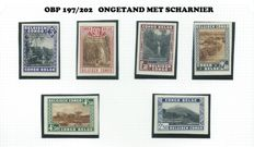 Belgian Congo - selection non-perforated series - OBP 197/202, 339/340, 344/349 and 350/366 ND