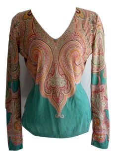 Etro - cashmere - silk - tunic - new