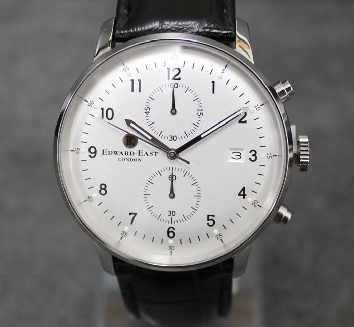 Edward East London - men's wristwatch chronograph. - new and never worn
