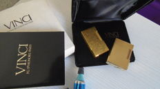 S.T. Dupont high range gold + Vinci Paris plaque Gold - 2375 Carats