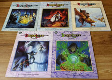 TSR - The Dragonlance Saga - Books One, Two, Three, Four And Five - Complete Set - X5 SC - (1987/1991)