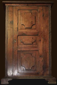 Original cabinet of the 17th century - from Siena, Italy