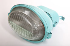 InduLamps - industrial light lamp Model UORP-250, Turquoise