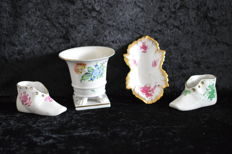Herend - Mixed Lot of 4 Pieces