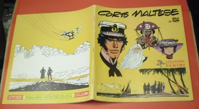 Corto Maltese - Album figurine completo 200 figg. - First Edition - (1977)