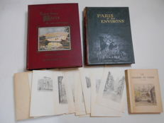 A collection of items about Paris et ses environs - 4 items -  1925 / 1935