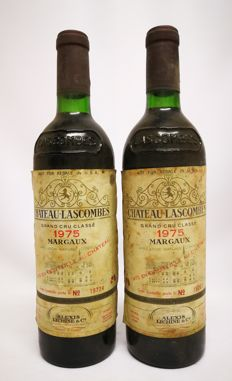 1975 Chateau Lascombes GCC de Margaux - Alexis Lichine & Co. - 2 bottles