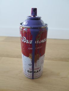 Mr Brainwash - Spray Can (Purple)
