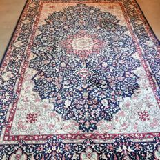 Gorgeous art deco Kerman Persian carpet - 262 x 177 - Unique design