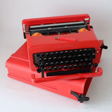 Ettore Sottsass & Perry King for Olivetti – Valentine typewriter in original case