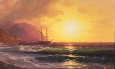 Vitalii Karpenko (*1963) - Evening surf