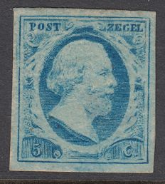 The Netherlands 1852 – King William III first emission – NVPH 1