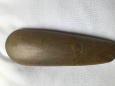 Polished sacrificial axe - Neolithic - from Denmark - size: length 165 mm x 60 mm