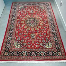 Stunning Ghom Persian carpet - 198 x 135 - with certificate - SUPER APPEARANCE
