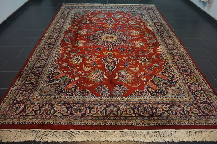 Oriental carpet - Indo Tabriz Tabriz - made in India end of the 20th century - 255 x 360 cm