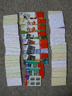 The Netherlands - batch of 325 stamps booklets in box