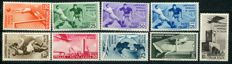 Kingdom of Italy, 1934 - Soccer World Championship - Sassone Catalogue, series 73