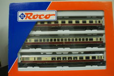 Roco H0 - 44117 - Set 3x TEE carriages of the DB.