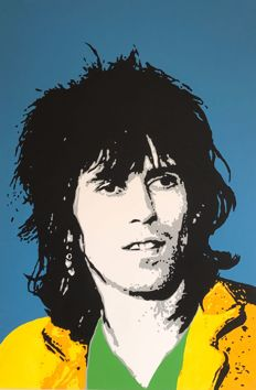 Gerke Rienks - The Rolling Stones, Keith Richards