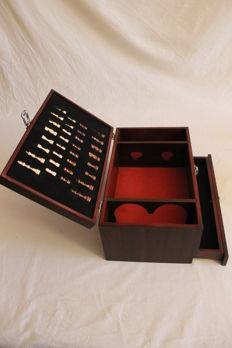 Chess with bottle case - second half of the 20th century