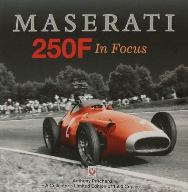 Book : Maserati 250F In Focus - Limited Edition