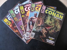 Large Collection Of Marvel Comics - Conan The Barbarian - Various Titles - X75 SC - (1977/1996)