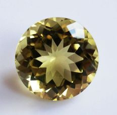 Citrine- Yellow -14.06 ct