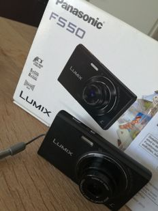 PANASONIC LUMIX FS-50 in box 16.1 megapixels