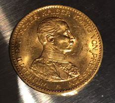 Germany - 20 Mark, 1914 A - Gold