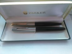 Parker 51 pen + Parker 45 fountain pen