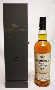 """23 years """"Highland Queen Majesty"""" Limited Edition no. 1251 of 2400 bottles - 40% abv."""