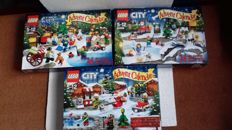 Seasonals - 60063 - 60099 - 60133 Advent Calendars 2014, 2015, 2016